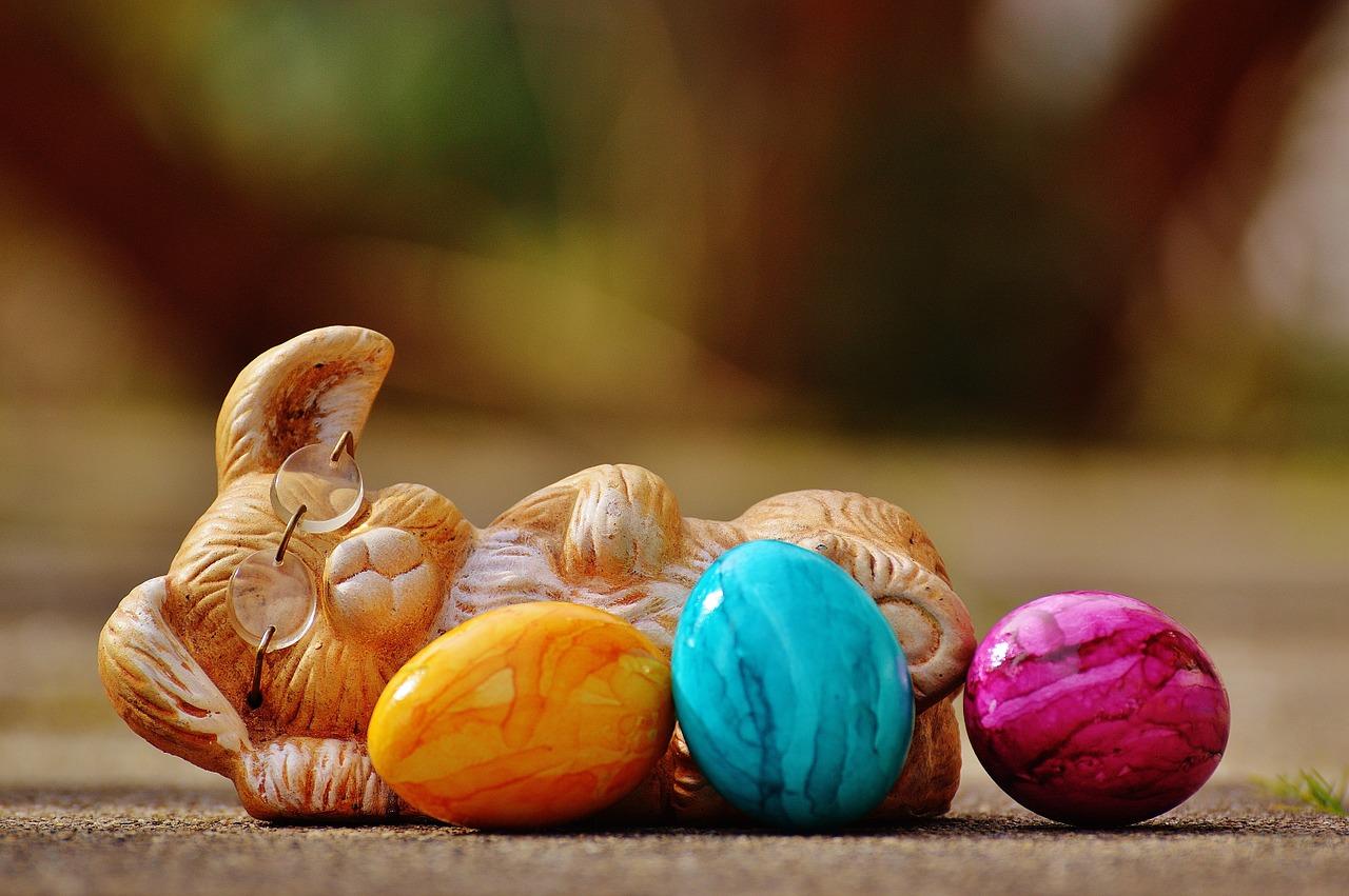 Vilande påskhare